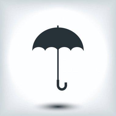 illustration of umbrella icon