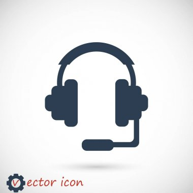 headphones flat icon