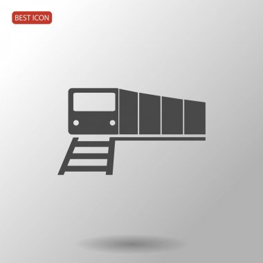 illustration of train icon