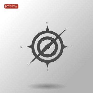 Black compass icon