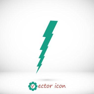bolt flat icon