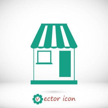 Green shop icon