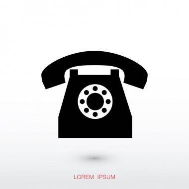 Vector illustration design of mobile phone icon clip art vector