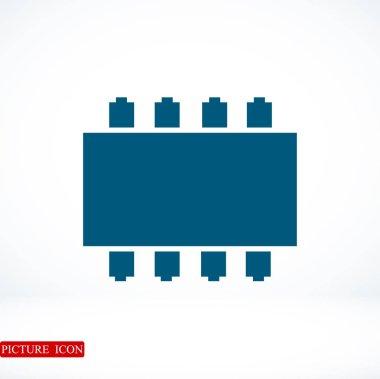 Ram flat icon
