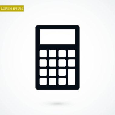 calculator icon  illustration