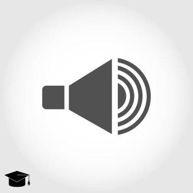 Speaker  flat icon