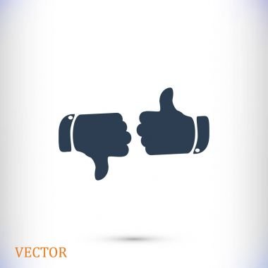 thumbs up sign icon