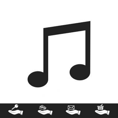 Design of music icon