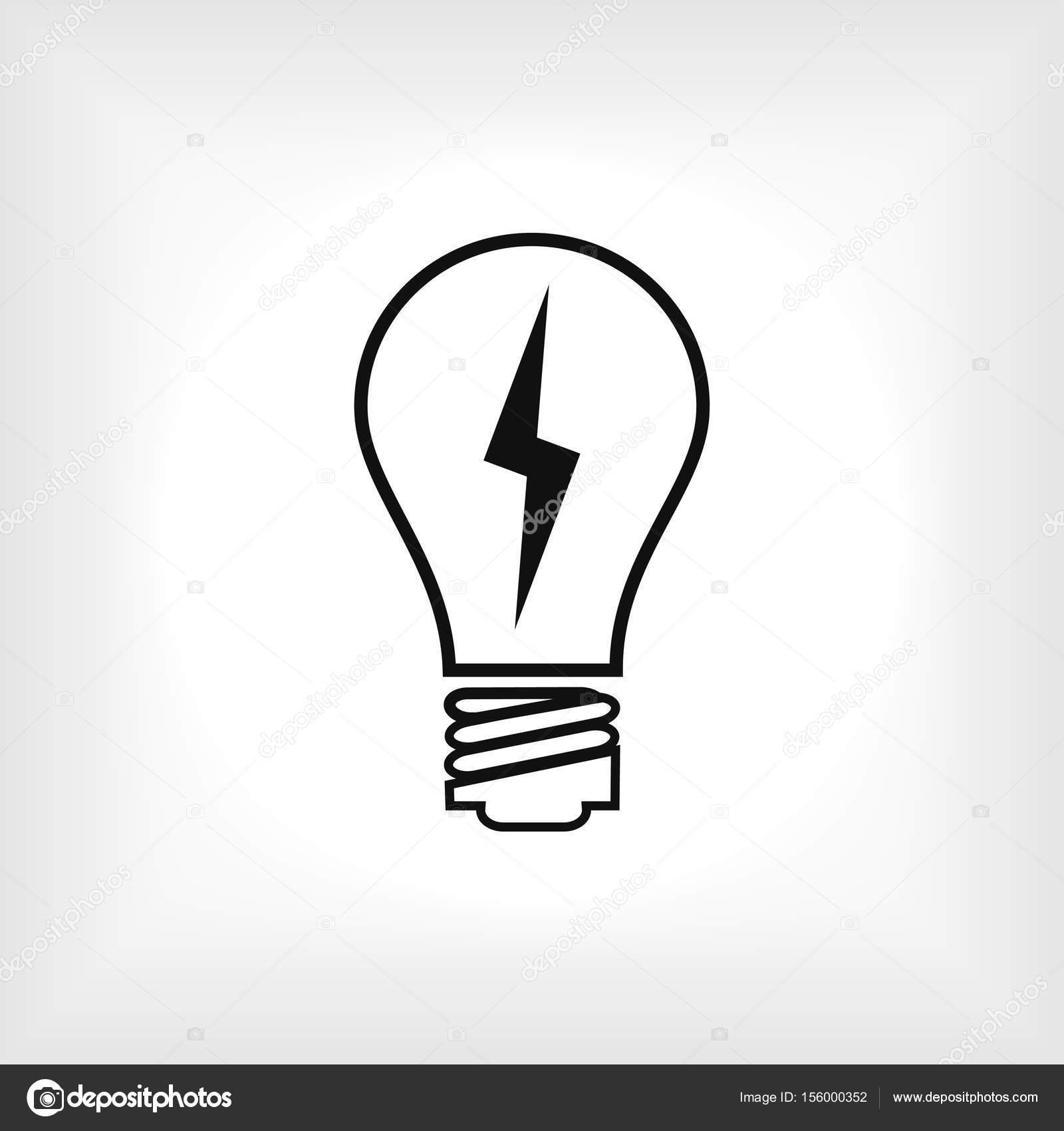 icon glühbirne — Stockvektor © SimVA #156000352