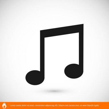 Design of music icon