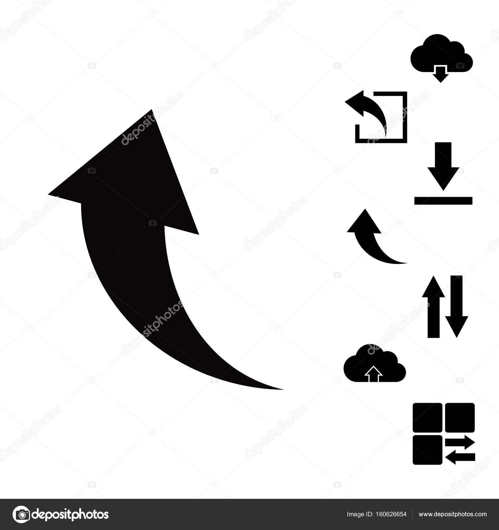 einfache Symbole — Stockvektor © SimVA #160626654