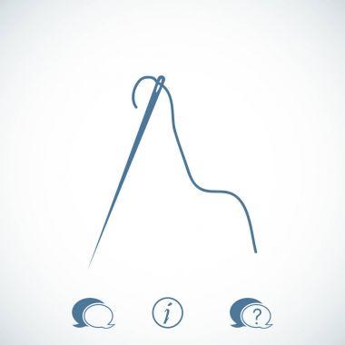 flat  needle icon