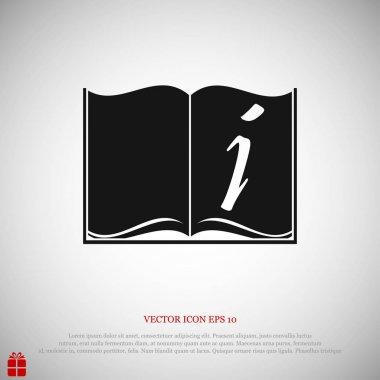 book sign icon
