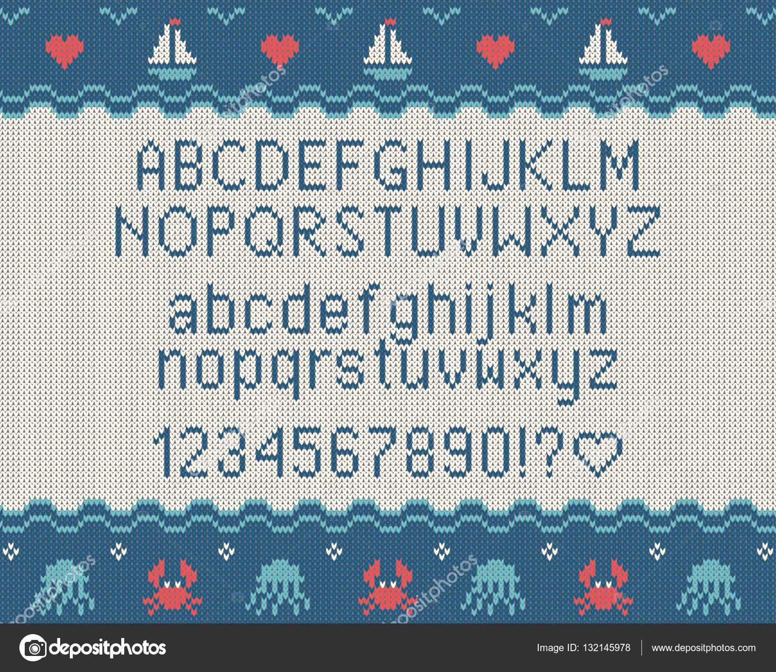 Fuente punto de mar. Punto alfabeto latino en el fondo del mar tema ...