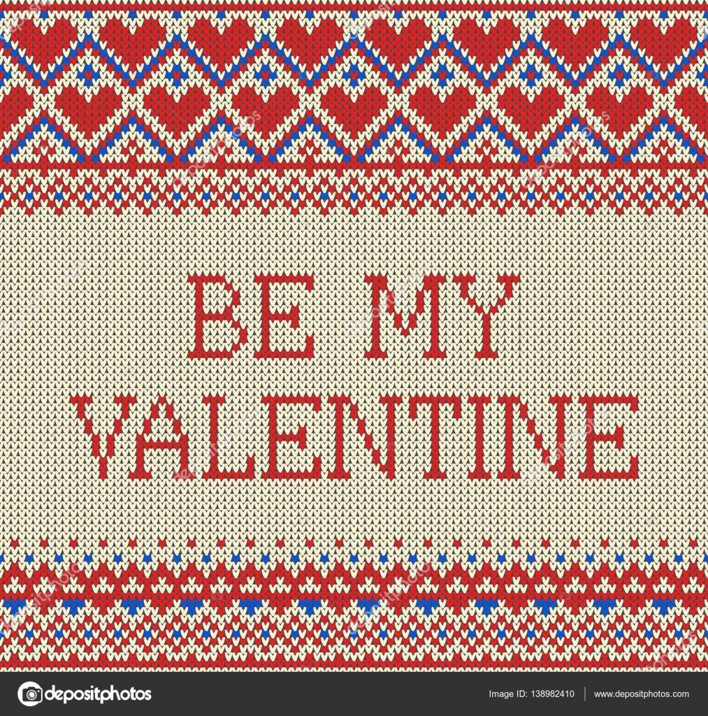Patrón sin fisuras en el tema de la fiesta de San Valentín con una ...
