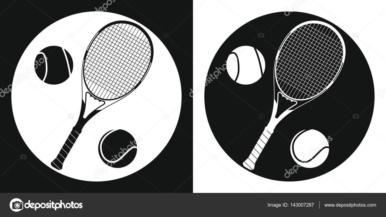 Tennis ball silhouette
