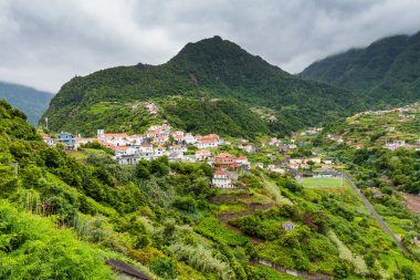 Small village on Madeira island