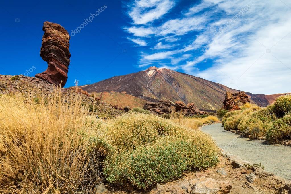 Pico del Teide mountain volcano