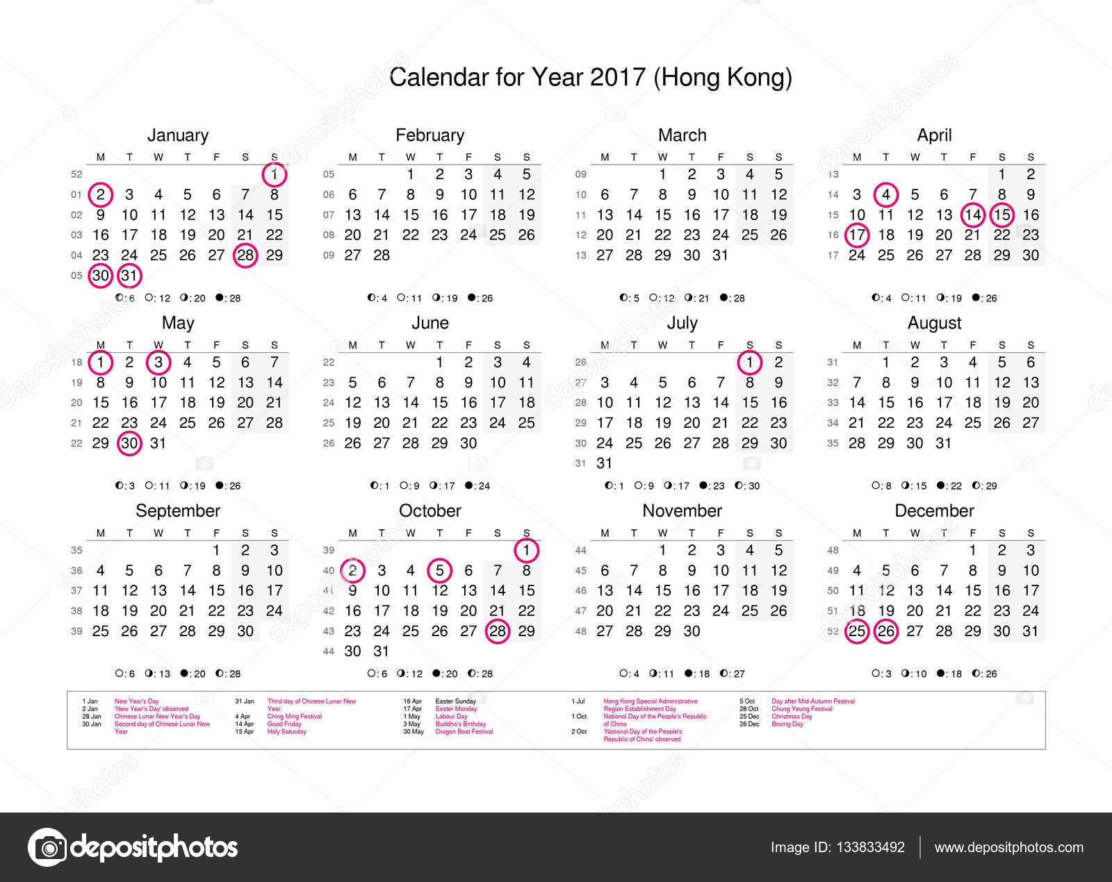 kalendar statnich svatku Kalendář roku 2017 s státních svátků a státních svátků — Stock  kalendar statnich svatku