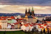 Katedrála svatého Víta a Pražský hrad. Česko