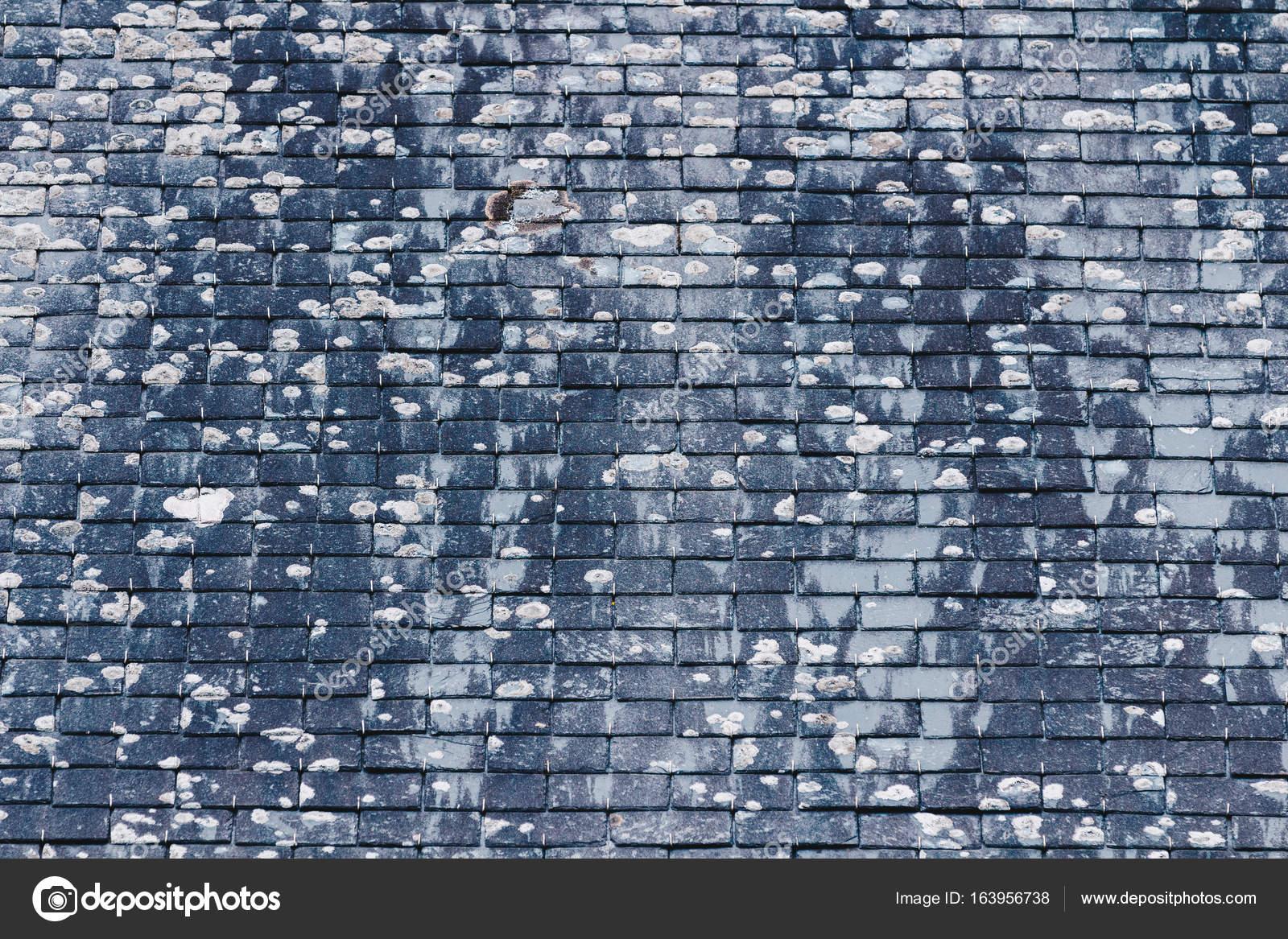 Background of old stone roof tiles — Stock Photo © DaLiu #163956738