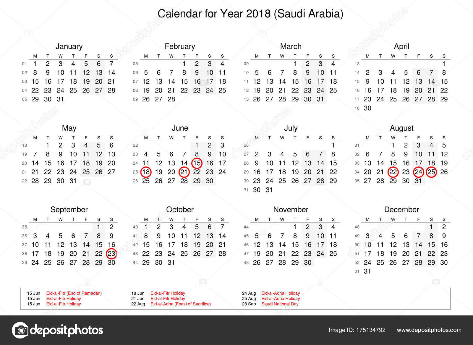 Popular Year Eid Al-Fitr 2018 - depositphotos_175134792-stock-photo-calendar-of-year-2018-with  You Should Have_414149 .jpg