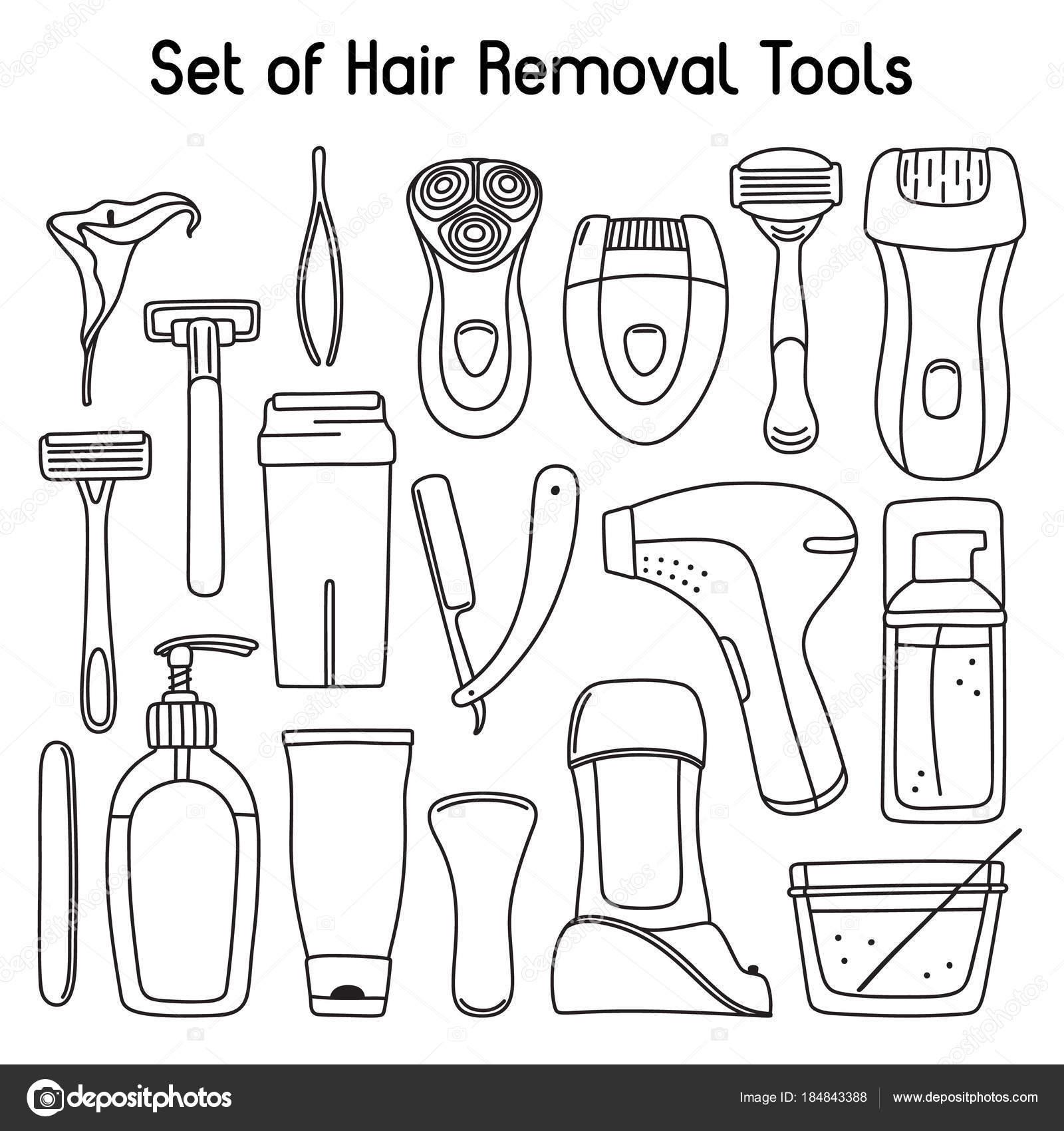 Imágenes Articulos De Higiene Personal Para Colorear