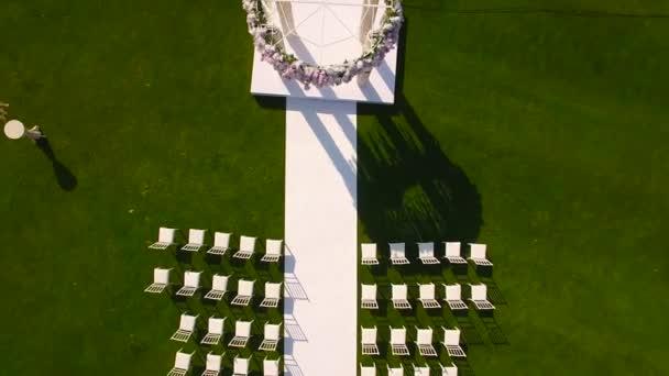 Decorazioni per la cerimonia nuziale