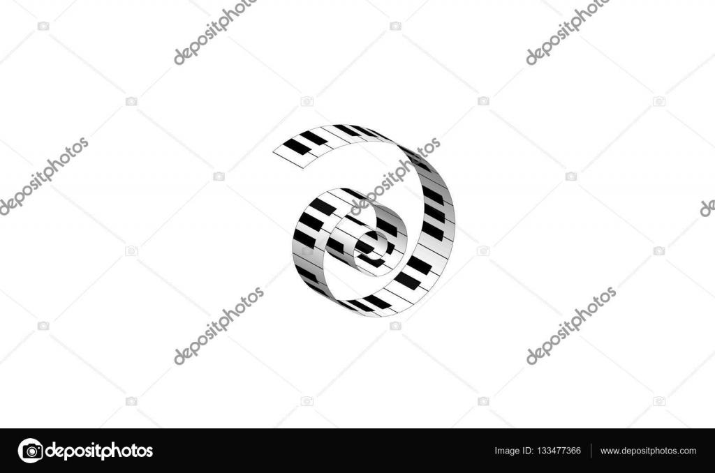 Teclado Do Piano Símbolo Da Música Vetores De Stock Sanrgo