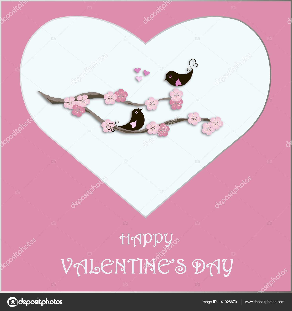 Herzlichen Glückwunsch Karte Happy Valentinstag, schwarz lieben ...