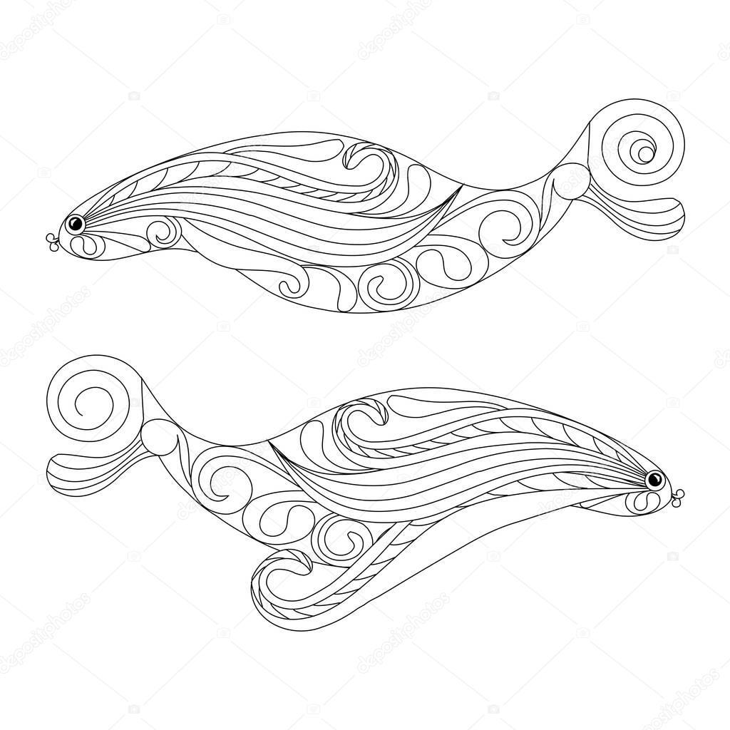 Beste Regenbogen Fisch Färbung Seite Vorlage Ideen ...