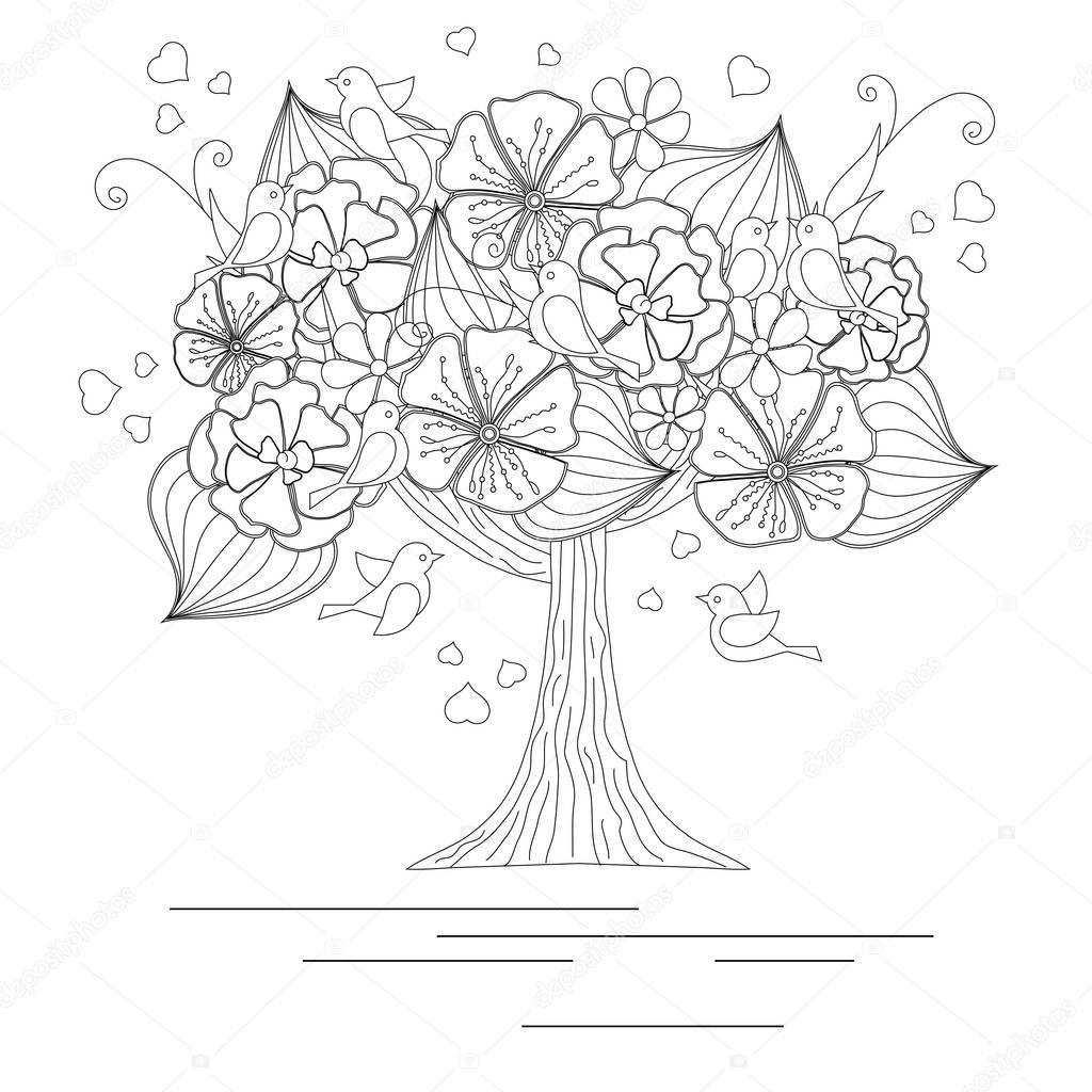 Nett Druckbare Malvorlagen Von Bäumen Ideen - Beispiel Business ...