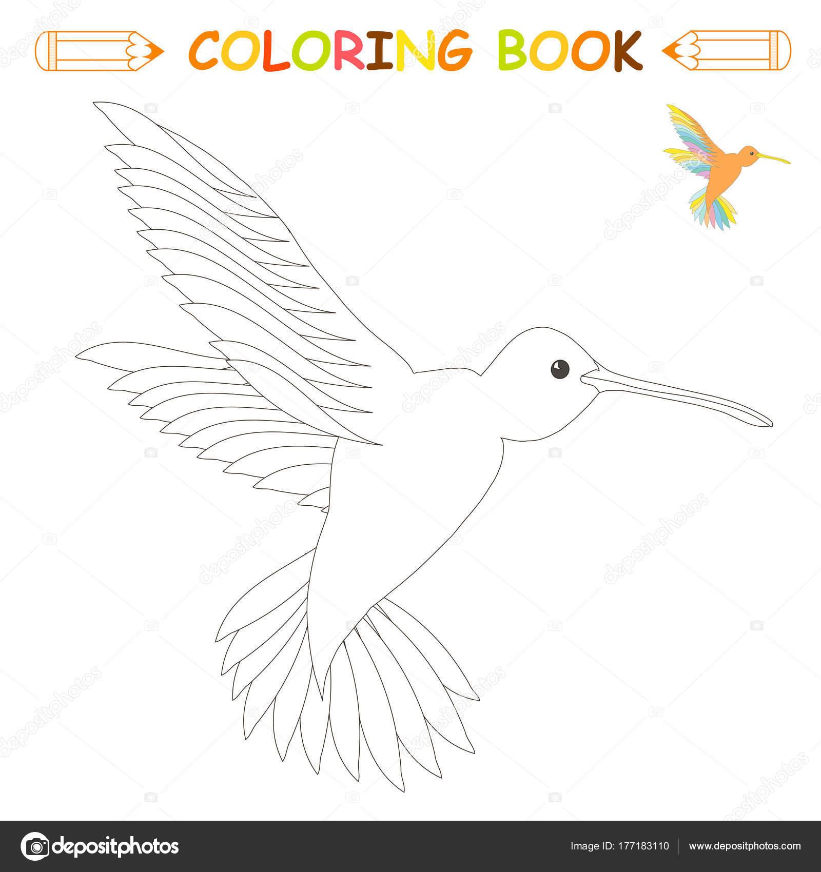 Sayfa Boyama çocuk Vektör çizim Boyama Kitabı çocuklar Için Siyah