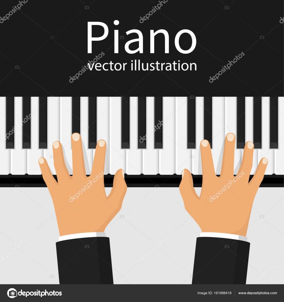 Вектор пианино клавиши 6