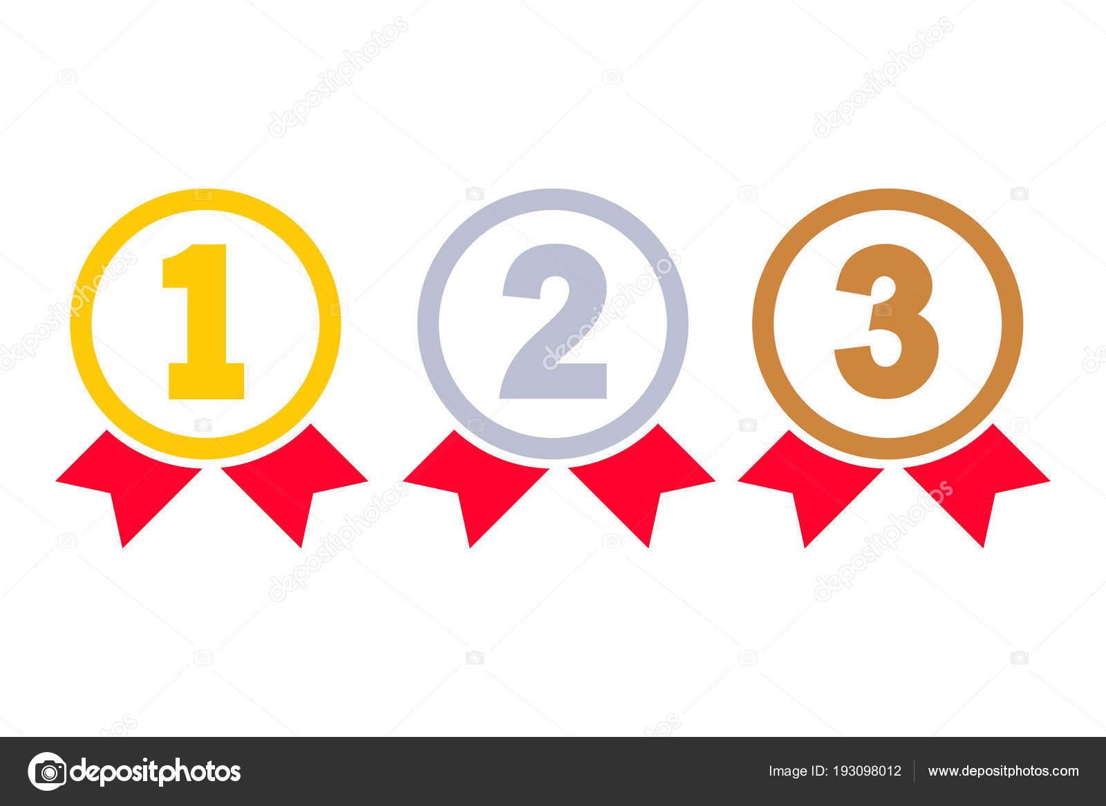 1º, 2º, 3º Lugares