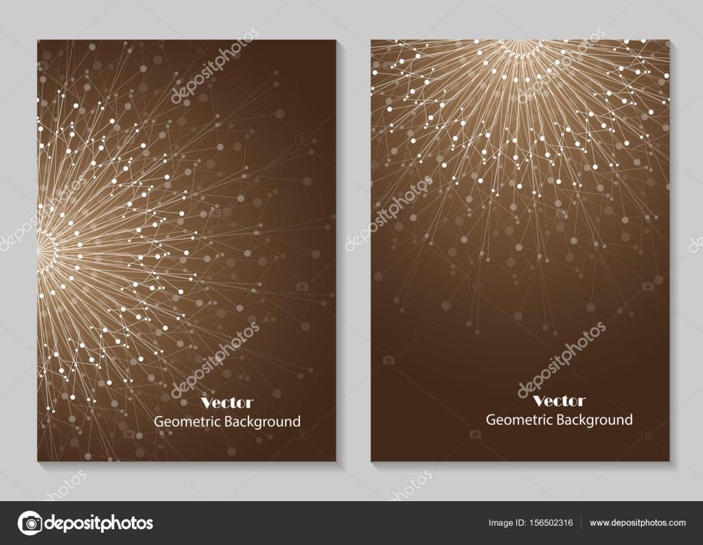 Modern Brochure Cover Design Stock Vector Deboprevail