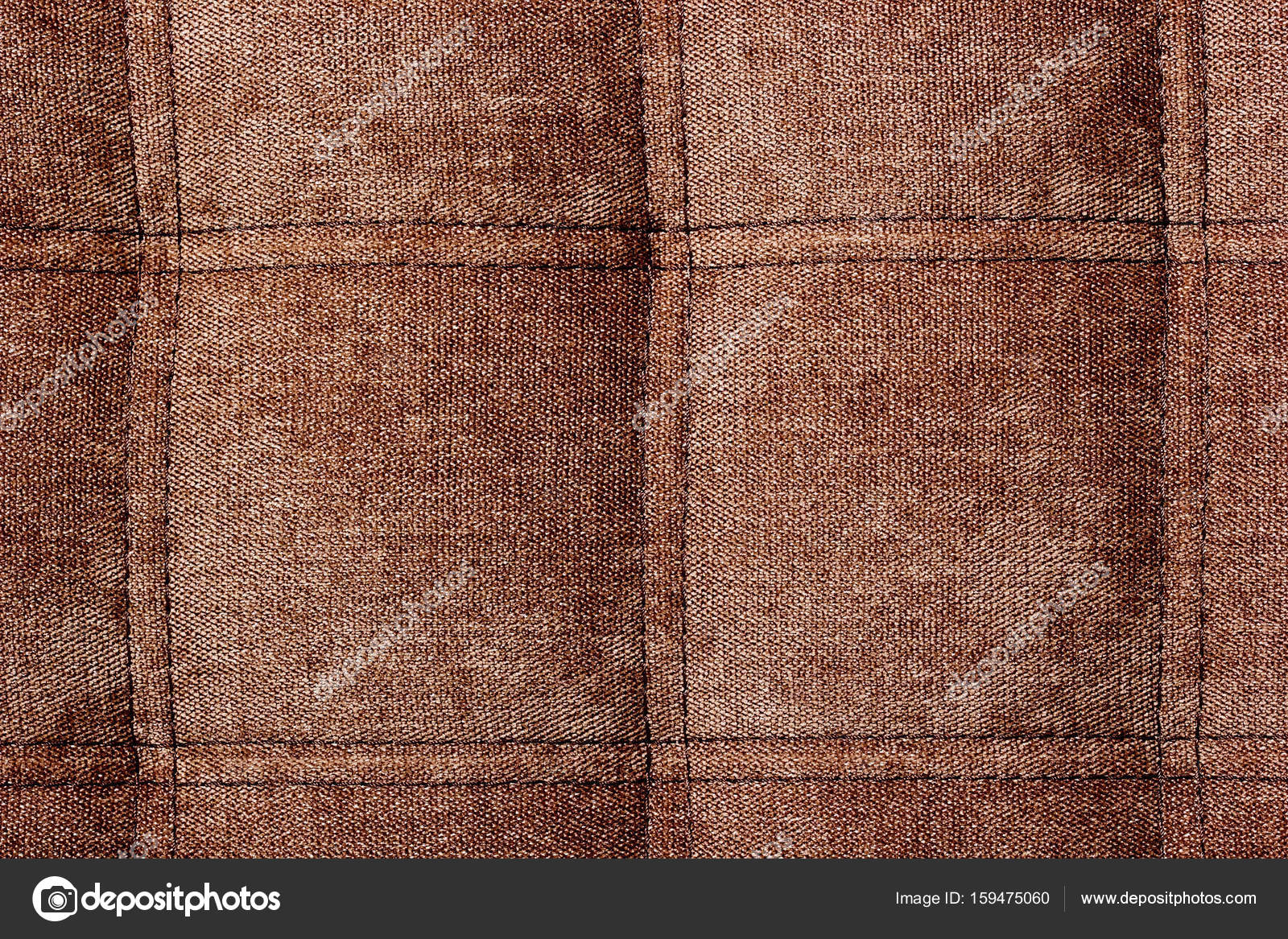 Background Pattern Closed Up Of Abstract Texture Of Brown Fabric