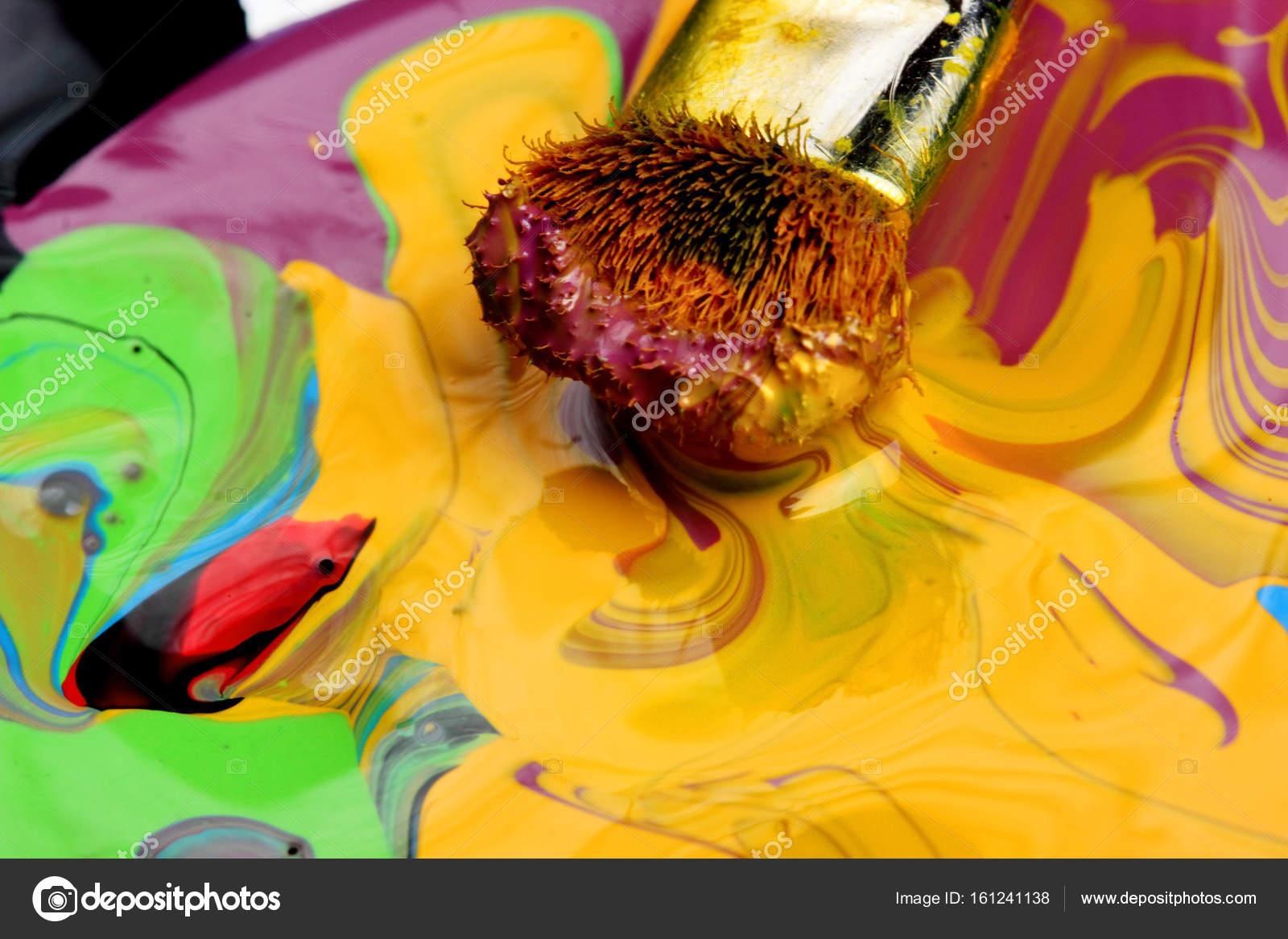 Фото цветов разными кистями