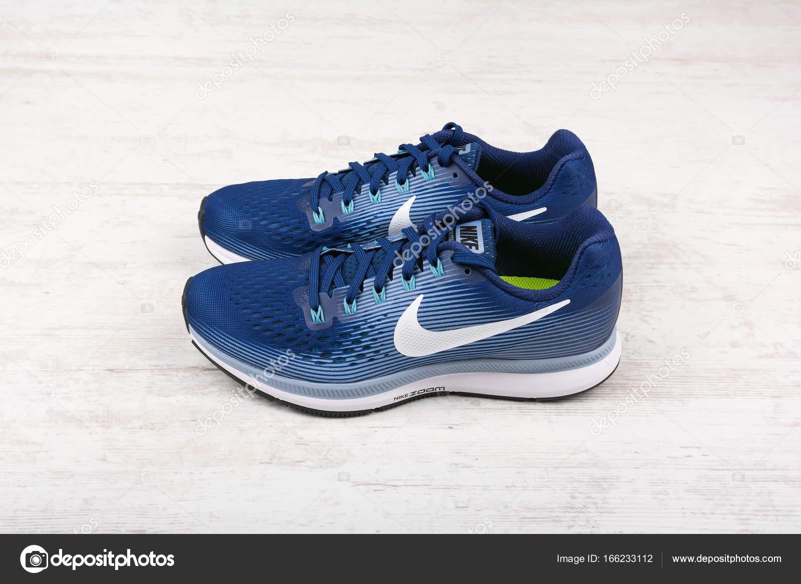 zapatillas nike azul