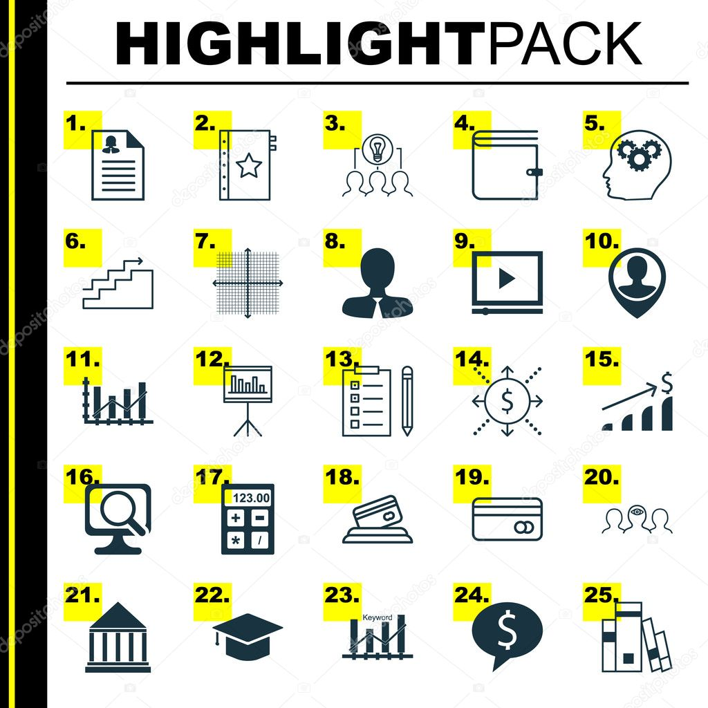 Set of 25 universal icons on money employee location raise diagram set of 25 universal icons on money employee location raise diagram and more topics vector icon set including female application library ccuart Choice Image