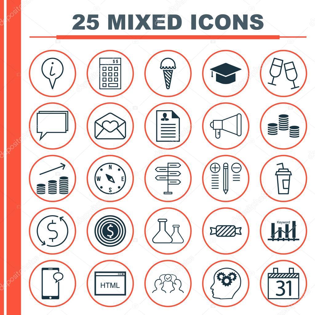 da54cee0fe81c Incluye iconos como Curriculum Vitae
