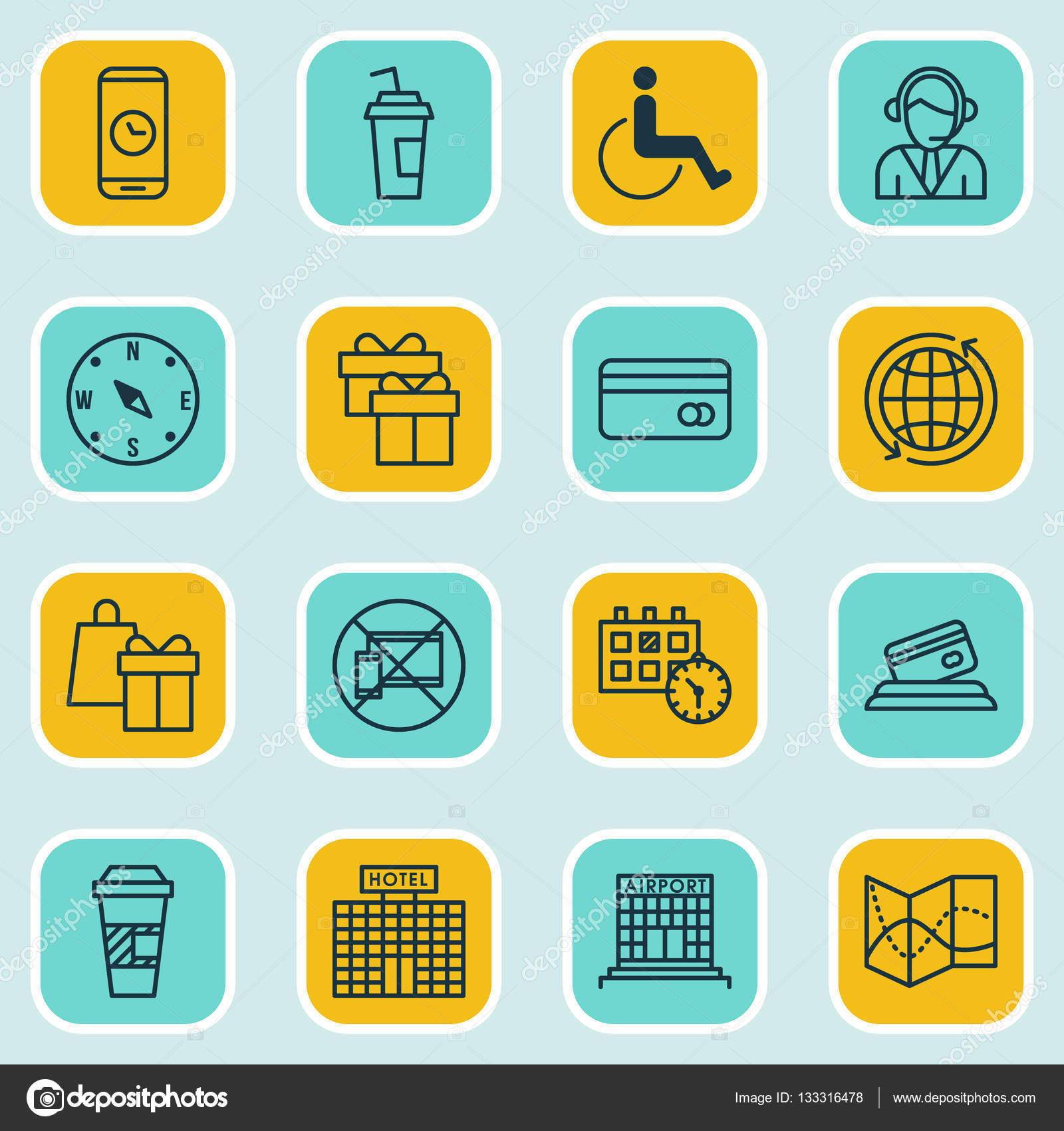 conjunto de 16 cones itinerantes pode ser usado para web mobile ui e infographic design. Black Bedroom Furniture Sets. Home Design Ideas
