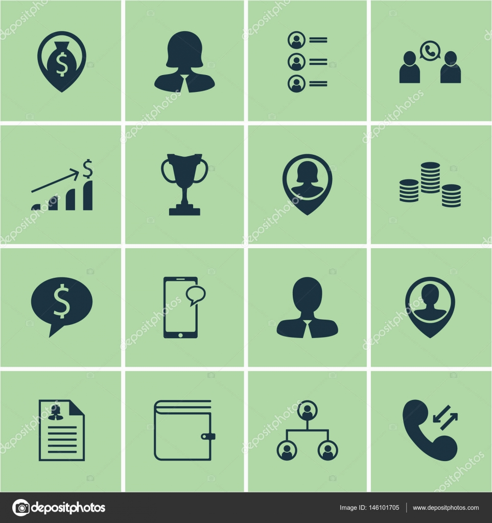 Cellular data symbol images symbol and sign ideas set of 16 hr icons includes phone conference employee location includes phone conference employee location cellular biocorpaavc Choice Image