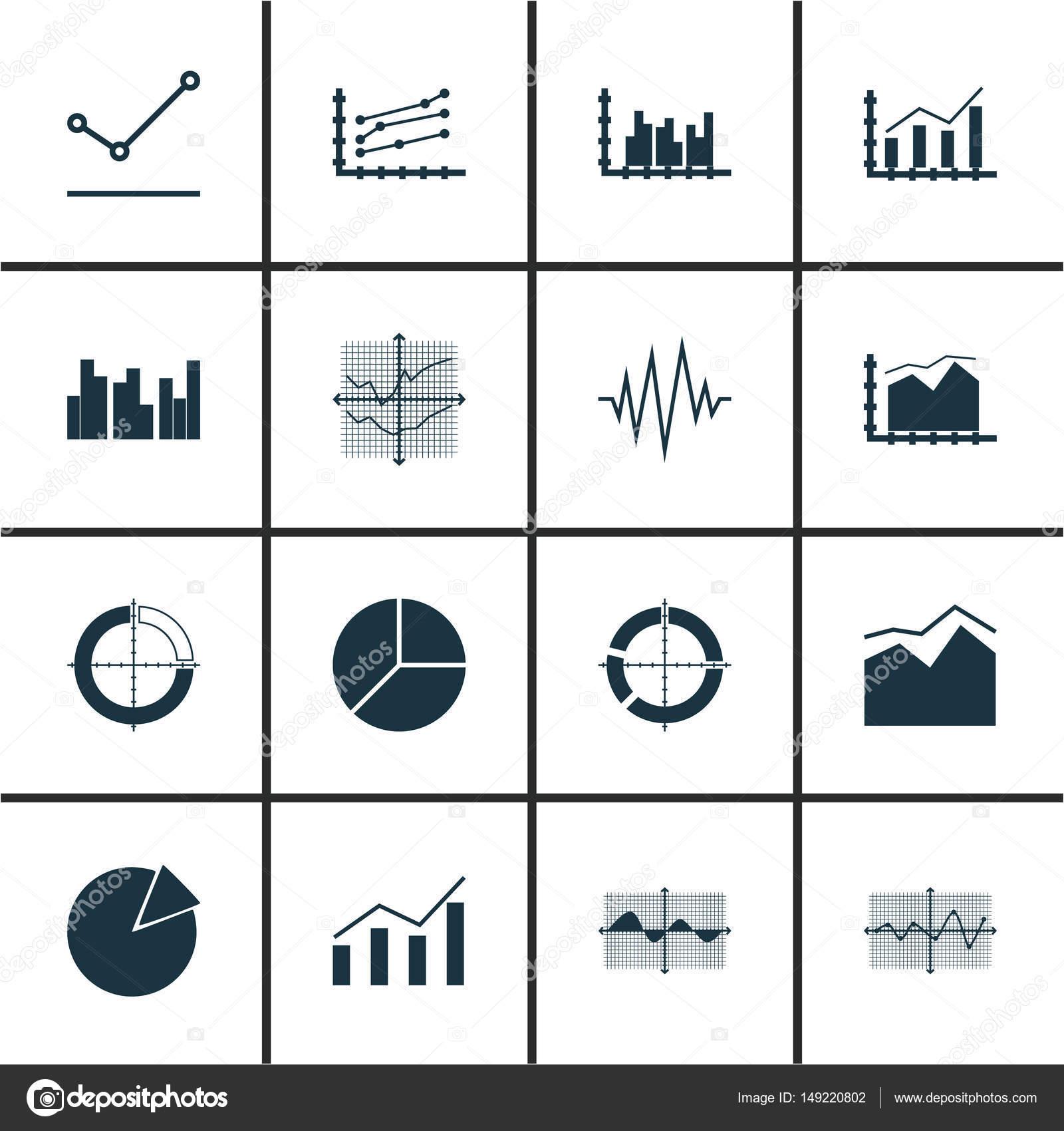 Conjunto de grficos diagramas e estatsticas cones coleo de conjunto de grficos diagramas e estatsticas cones coleo de smbolo de qualidade superior ccuart Gallery