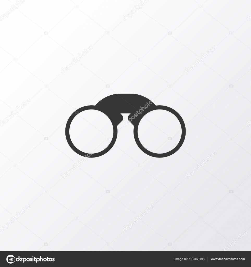 7ef169314571 Field Glasses Icon Symbol. Premium Quality Isolated Pair Of Glasses Element  In Trendy Style.