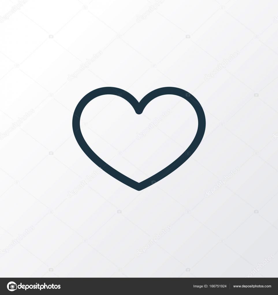 Favorite outline symbol premium quality isolated heart element in favorite outline symbol premium quality isolated heart element in trendy style stock vector buycottarizona Image collections