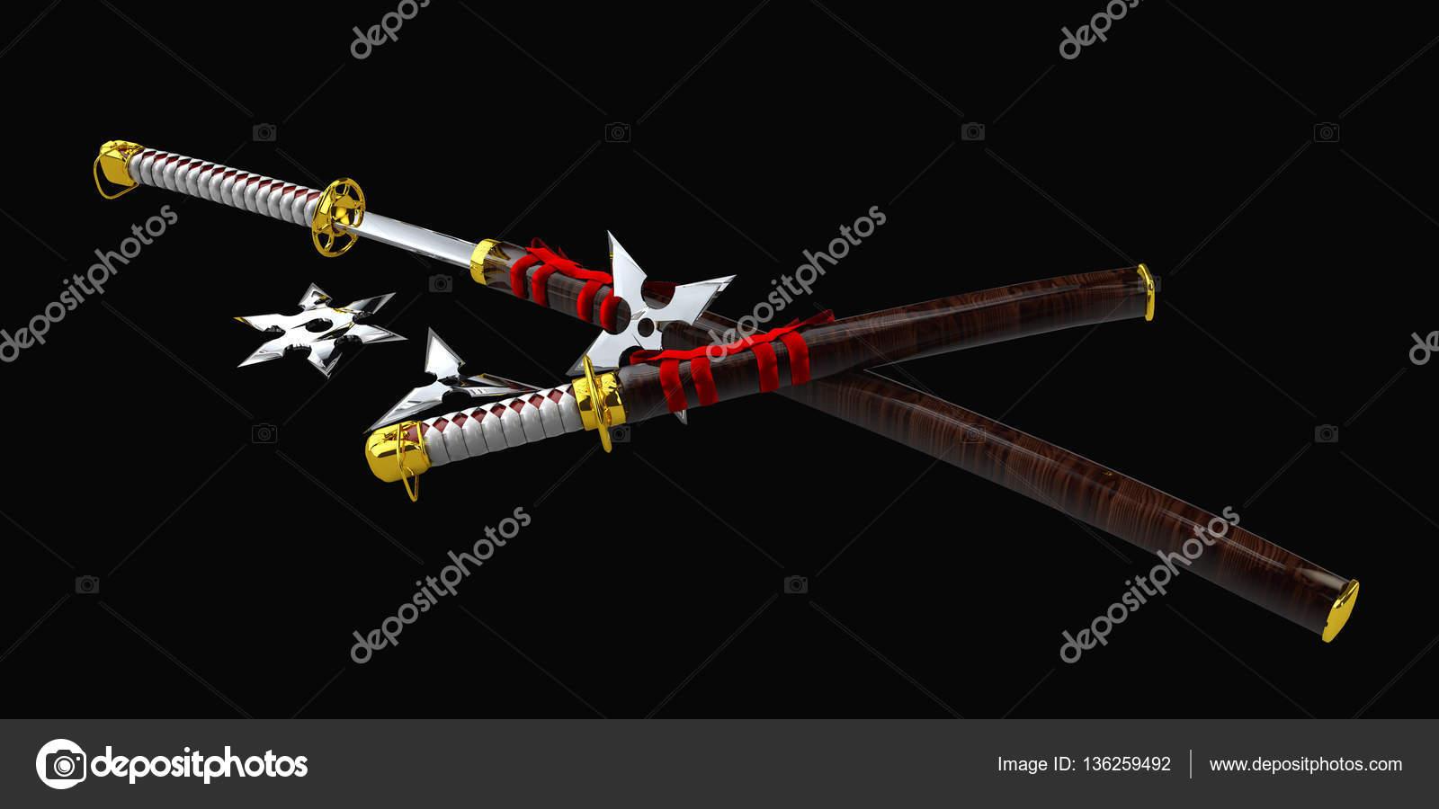 Katana Sword Wallpaper Hd Katana Japonesa Samurai Set
