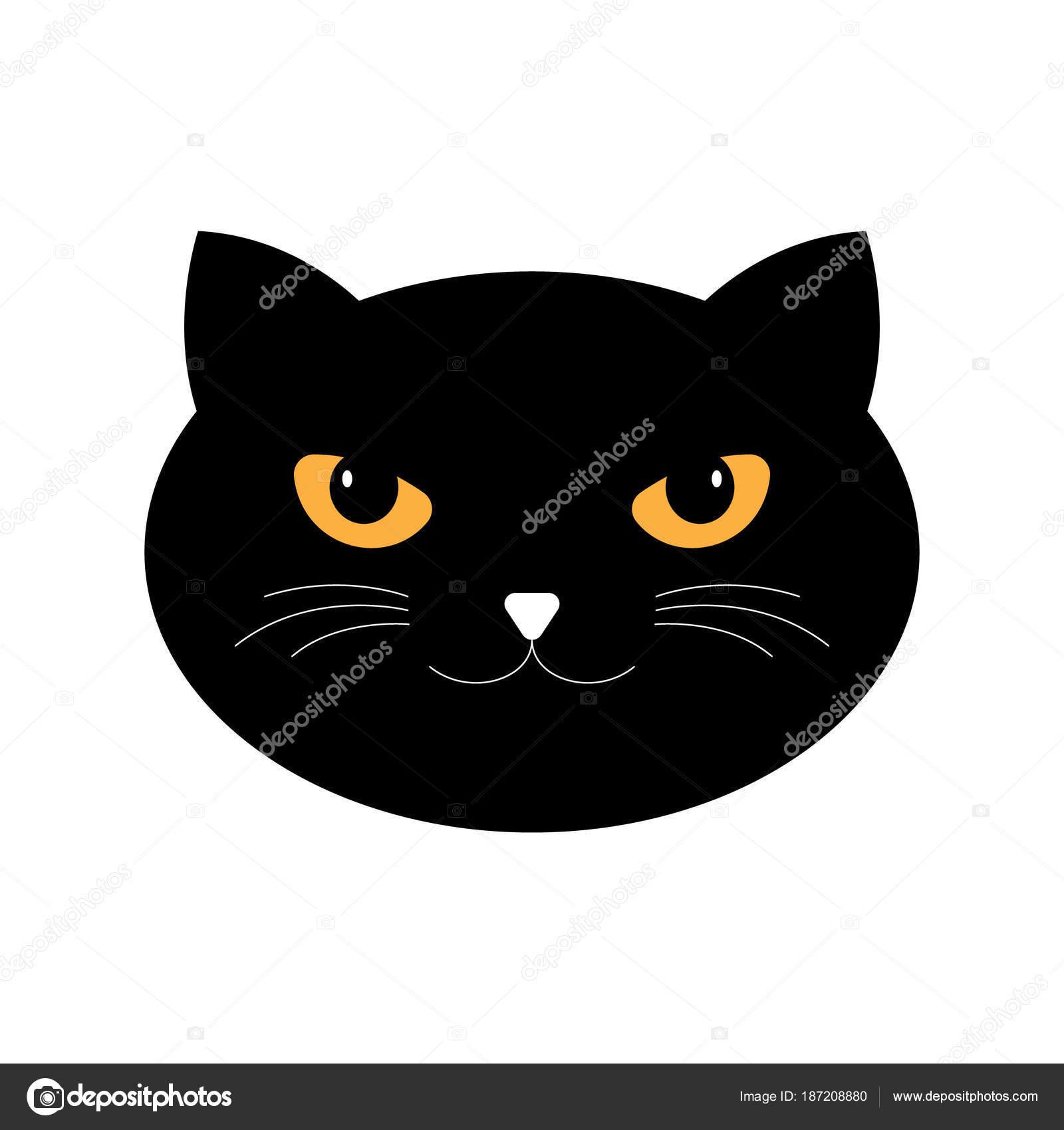 Gatti stilizzati sagoma del gatto nero vettore - Mobilifici san marino ...