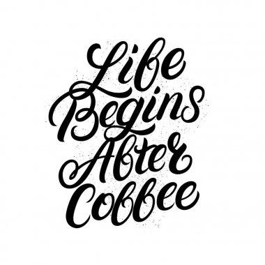 Download Life Begins After Coffee – Svg File Design