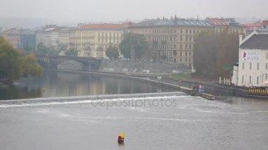 starobylé město Prahy a Vltavy
